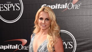 LOS ANGELES, CA - JULY 15: Singer Britney Spears attends The 2015 ESPYS at Microsoft Theater on July 15, 2015 in Los Angeles, California. (Photo by Jason Merritt/Getty Images)