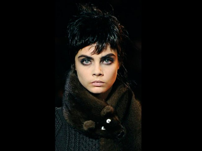 Cara mit Smokey Eyes