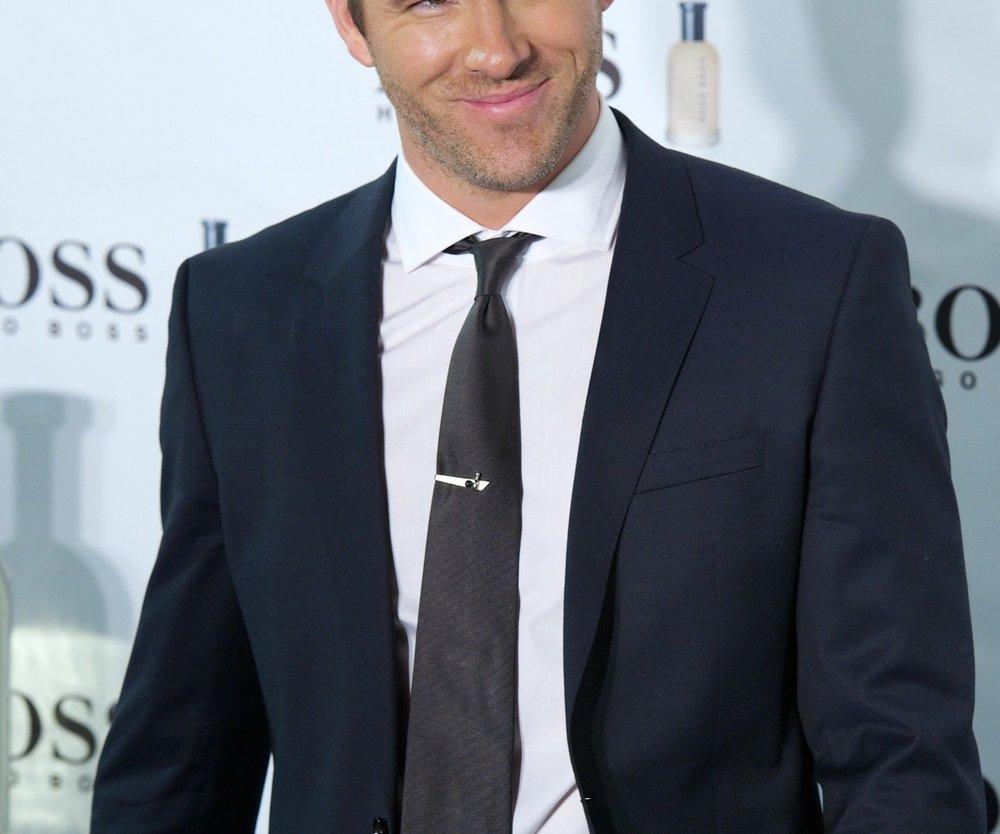 Ryan Reynolds besucht Blake Lively am Filmset