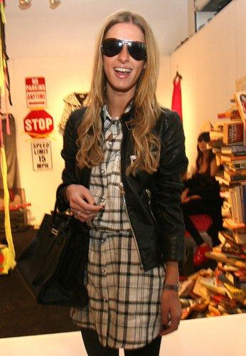 Nicky Hilton mit Birkin Bag