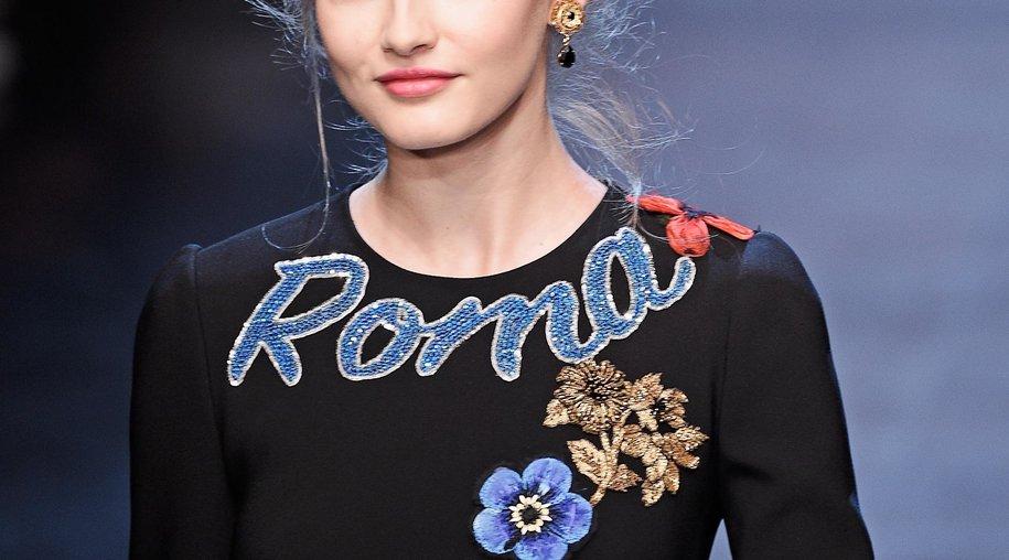 Souvenir-Look bei Dolce & Gabbana