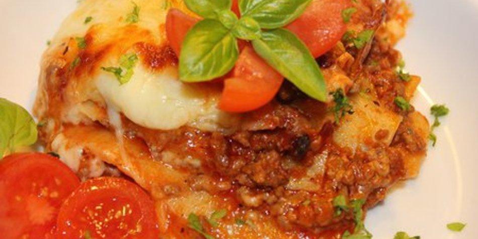 Lasagne nach Hausfrauenart