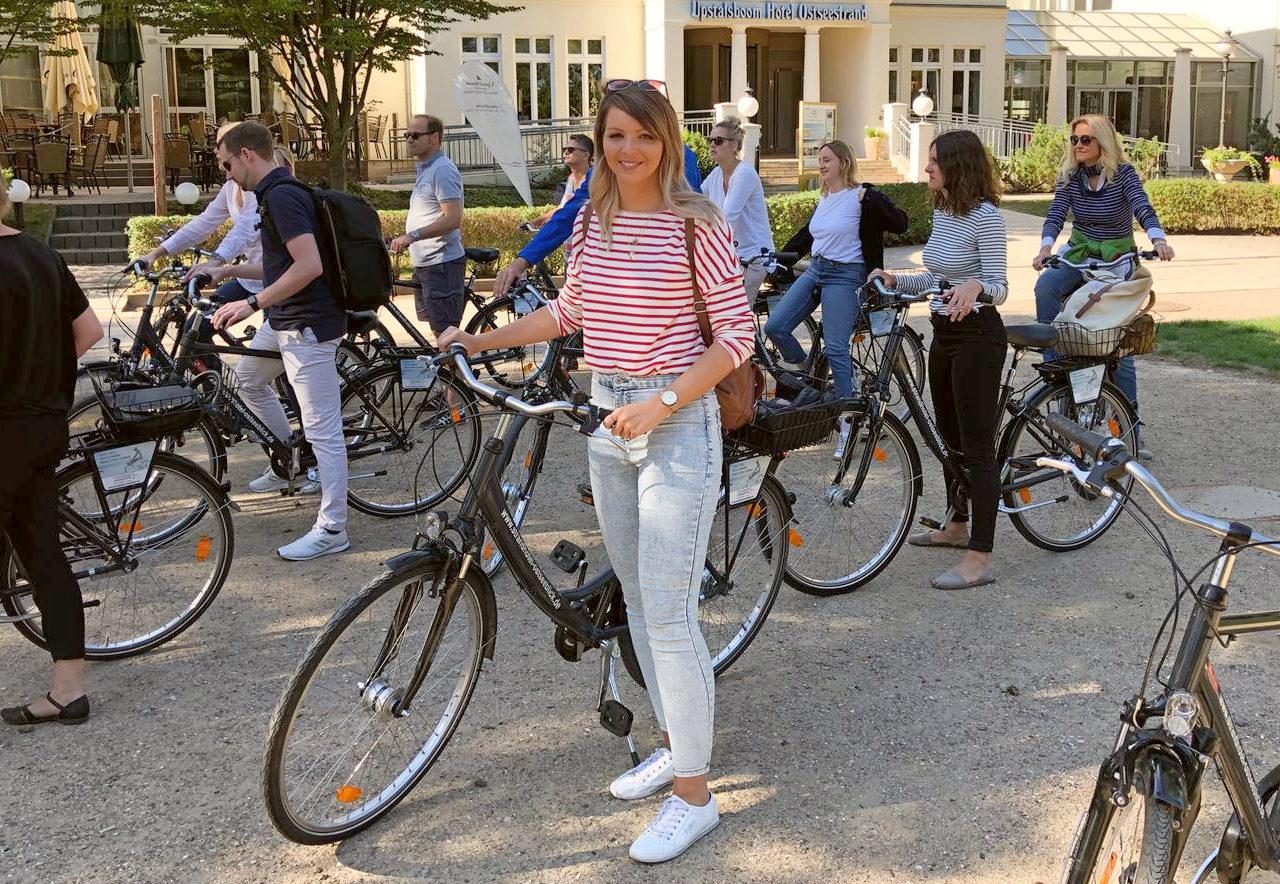 Radtour Usedom