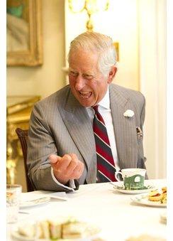 Prinz Charles: Ob er hier wohl von Prinzessin Charlotte spricht