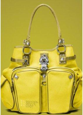 Gelbe Handtasche von george Gina Lucy