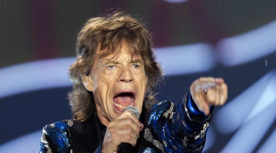 Mick Jagger tritt mit den Stones in Kuba auf.