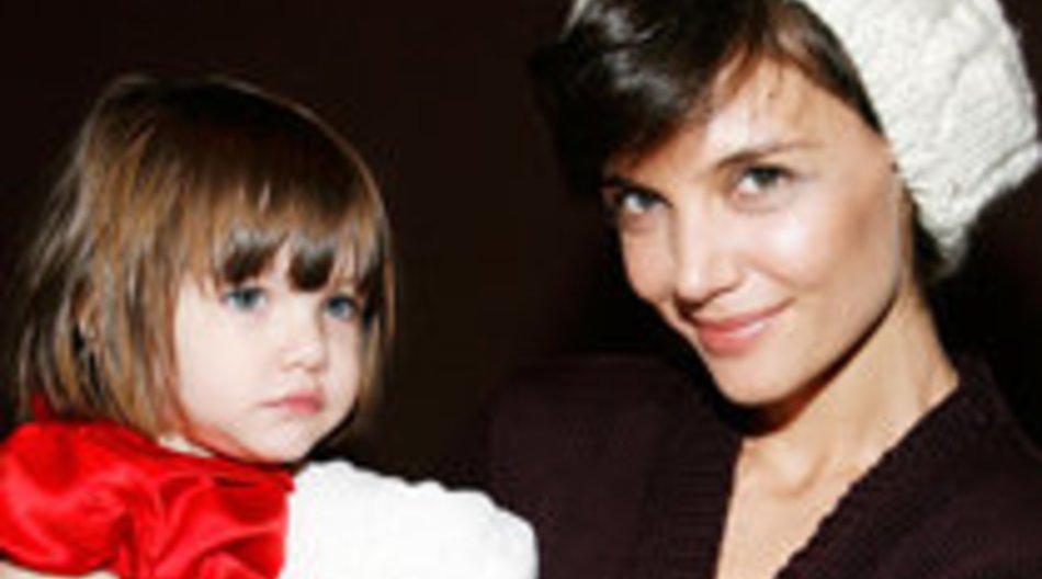 Suri Cruise und Katie Holmes: Modefimmel im Doppelpack