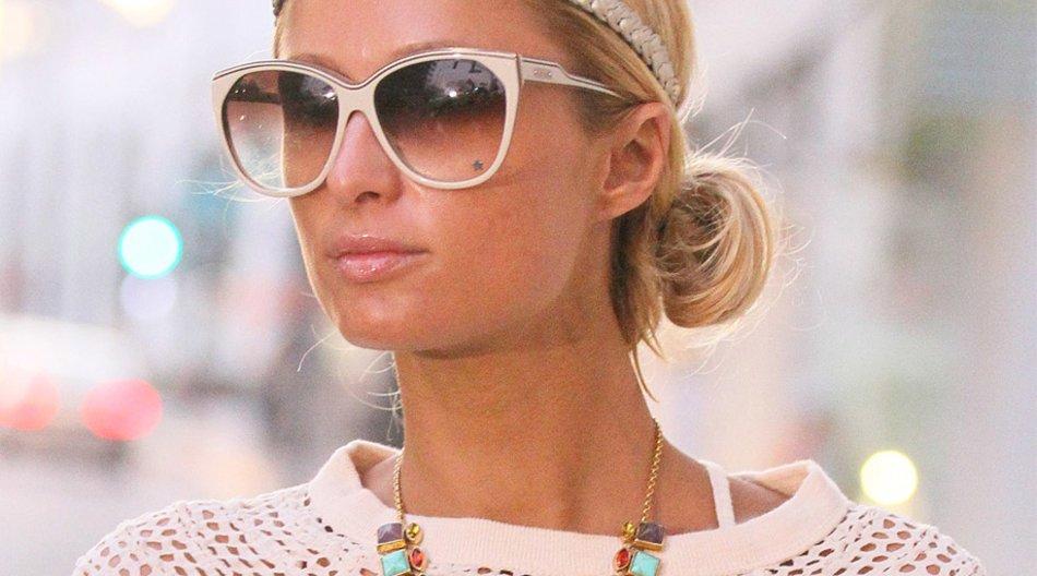 Paris Hilton mit Sonnenbrille