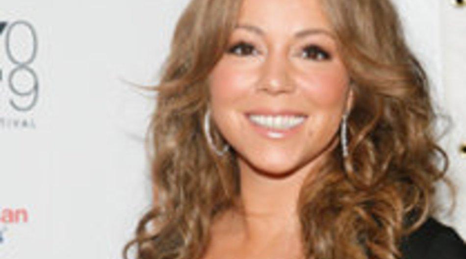Mariah Carey gibt Handy Konzert