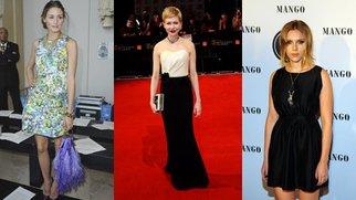 Kleider von der Stange: Stars setzen auf Low Budget