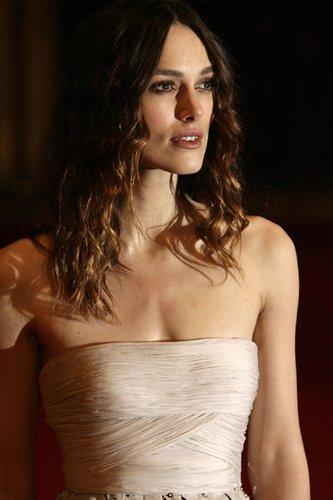 Keira Knightley ist eine bekannte Schauspielerin.