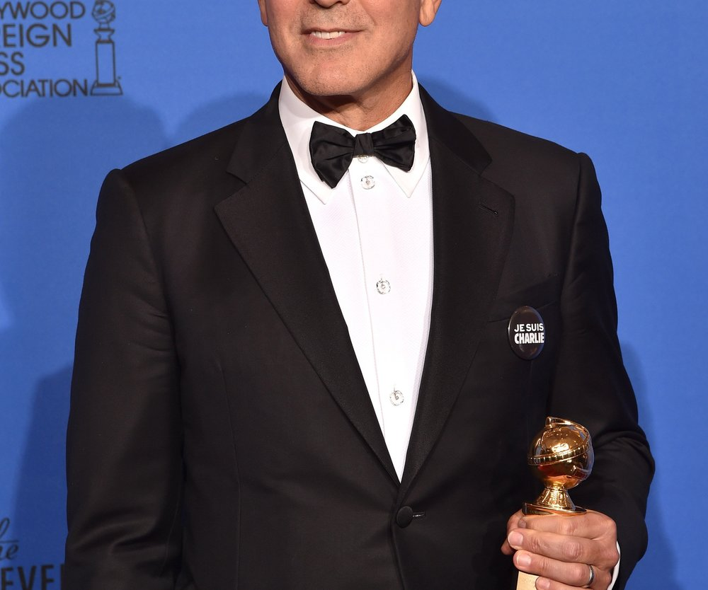 George Clooney: Zweifache Liebeserklärung bei den Golden Globes