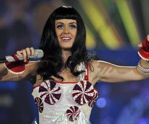 Katy Perry tritt auf
