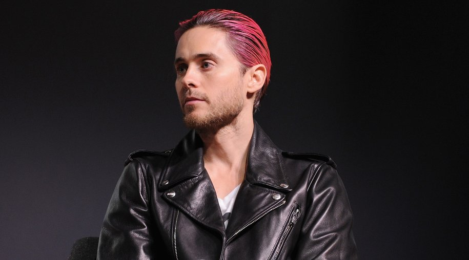 """NEW YORK, NY - NOVEMBER 10: Actor Jared Leto speaks onstage """"The Power Of Design With Tony Fadell And Jared Leto"""" at The Fast Company Innovation Festival on November 10, 2015 in New York City. (Photo by Craig Barritt/Getty Images for Fast Company)"""
