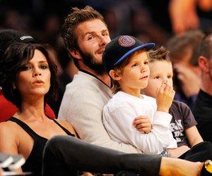 David und Victoria Beckham im Familienfieber