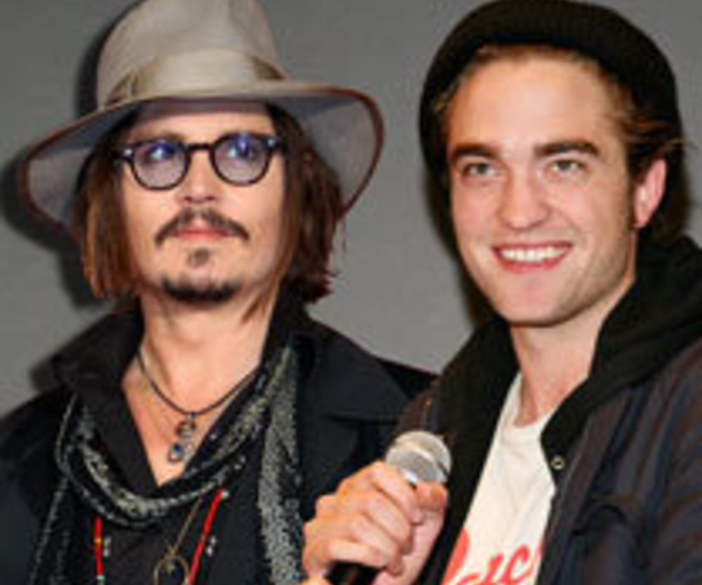 Robert Pattinson: Macht ihm Johnny Depp Konkurrenz?