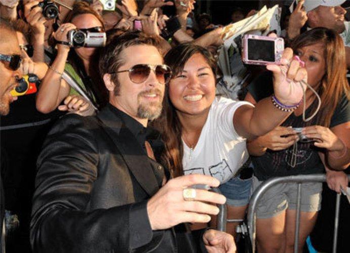 Superstar in Hollywood: Brad Pitt