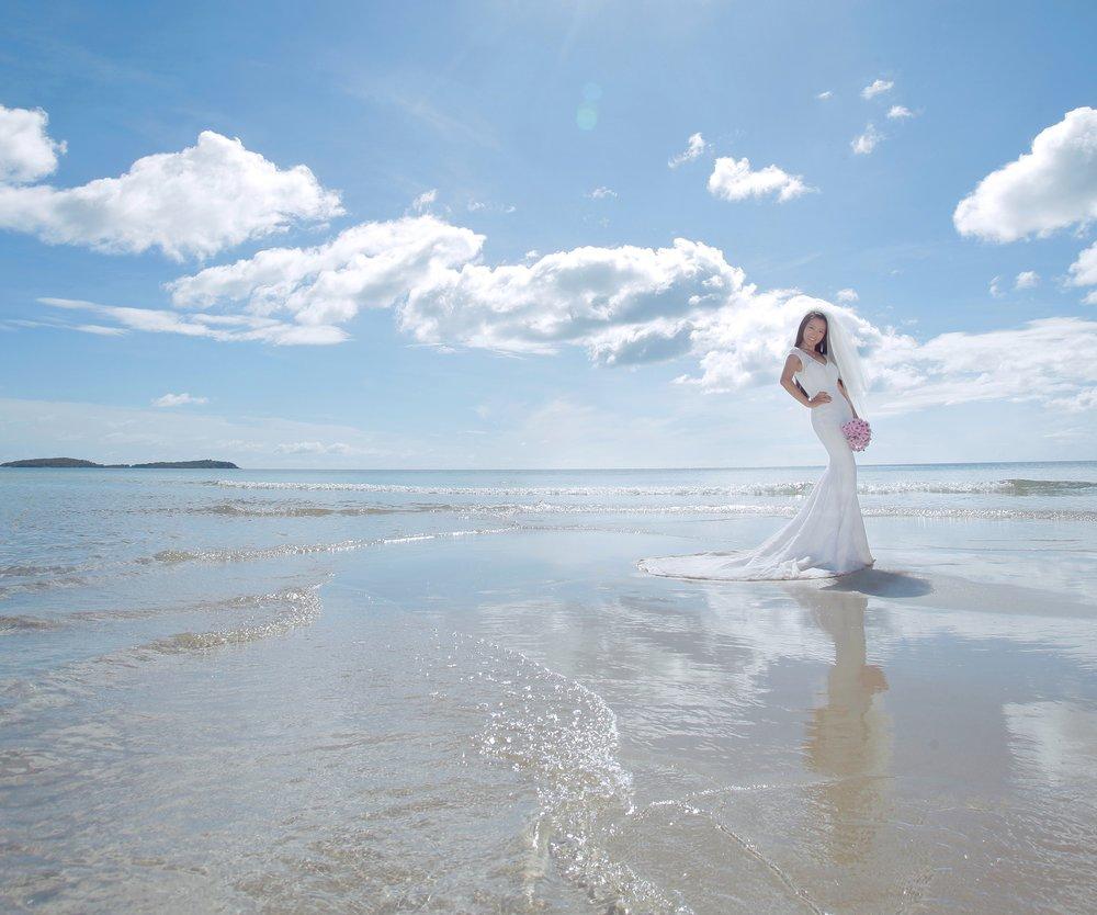 Heiraten wie eine Meerjungfrau