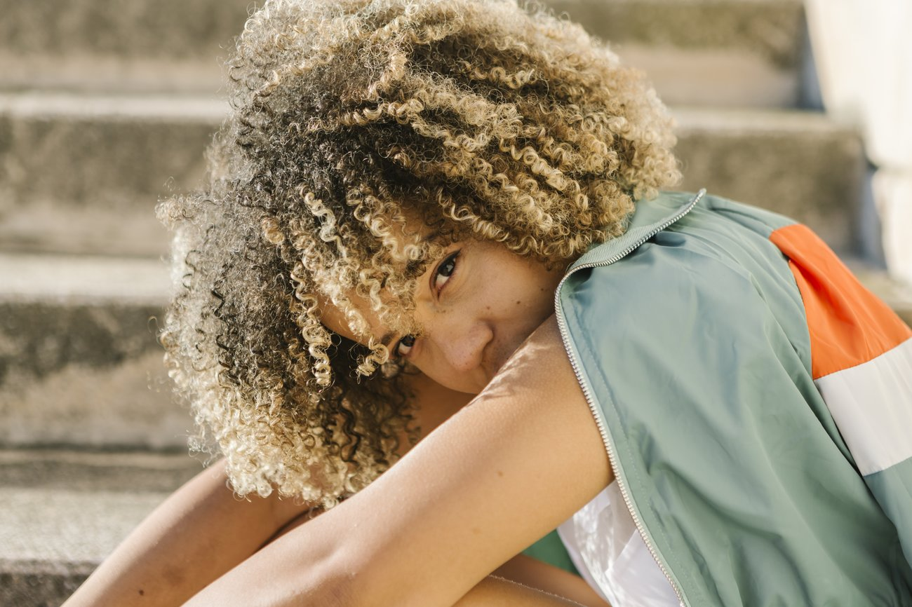 Haare aufhellen