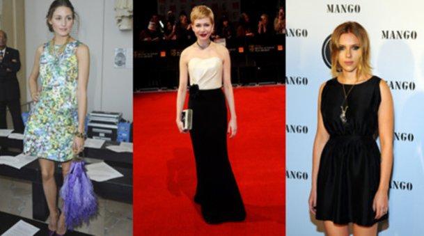 Olivia Palermo, Michelle Williams und Scarlett Johansson
