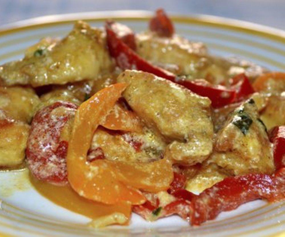 Paprika Sahne Hähnchen