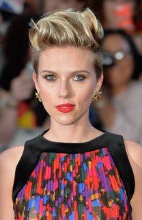 Scarlett Johansson: Hochgegelter Undercut