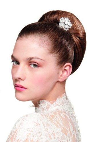 Hochzeitsfrisur mit elegantem Haarschmuck