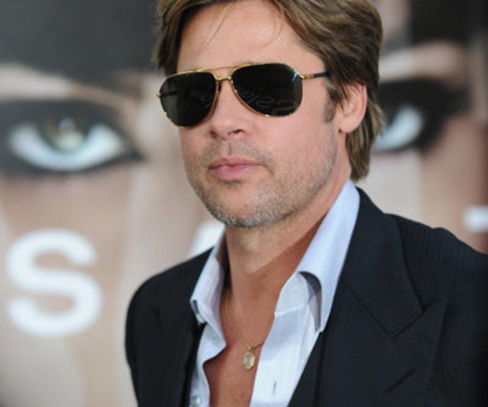Brad Pitt lebt vegetarisch