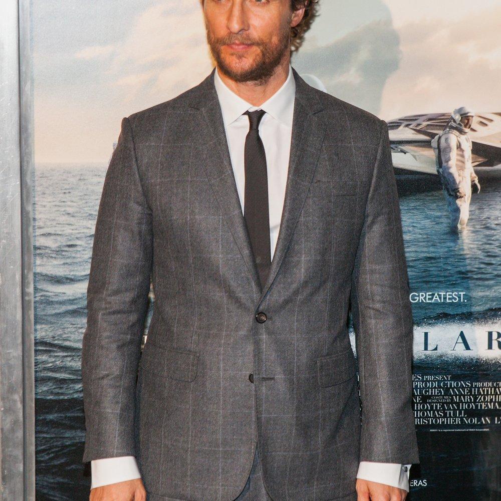 Matthew McConaughey erhält einen Stern auf dem Walk of Fame