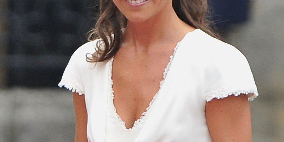 Kate Middleton: Schwester strahlt im Partykleid!