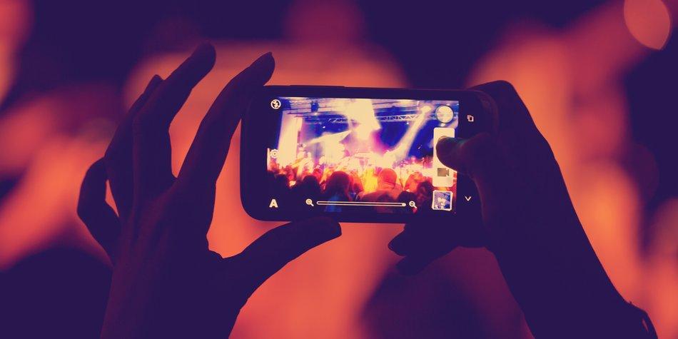 Nachtmodus: WhatsApp Button für bessere Fotos
