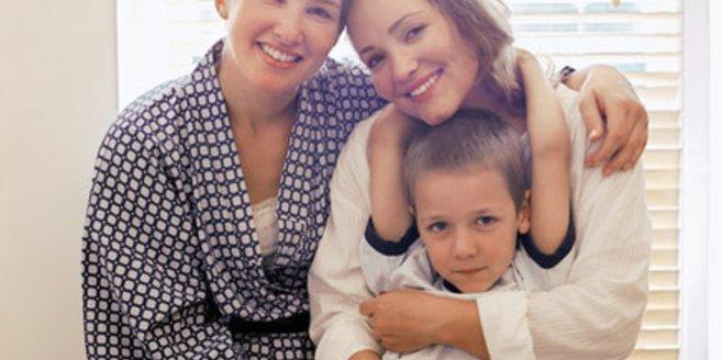 Zwei Mütter als gleichgeschlechtliche Eltern