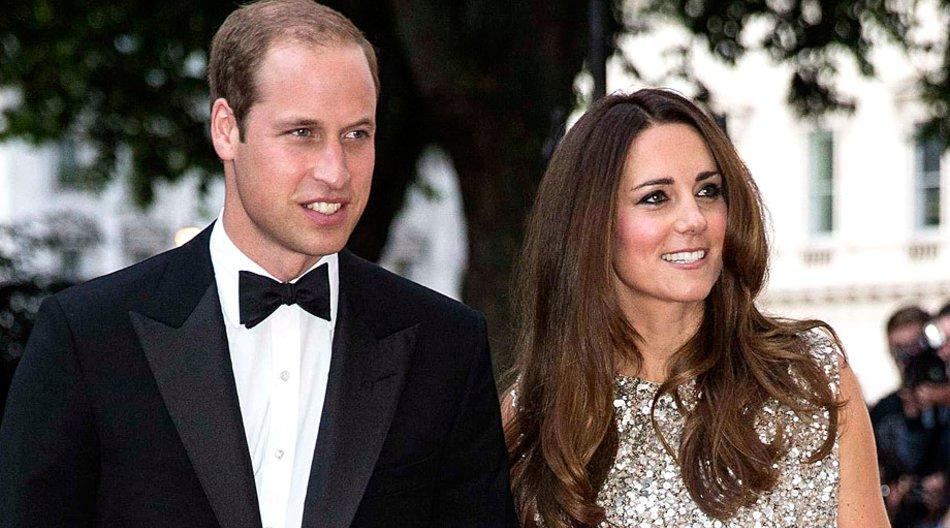 """Herzogin Catherine und ihr Mann Prinz William auf dem Gala-Dinner der """"Tusk Foundation""""."""