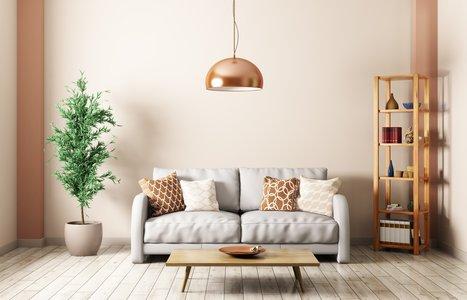 Minimalistisch wohnen mit Pflanzen