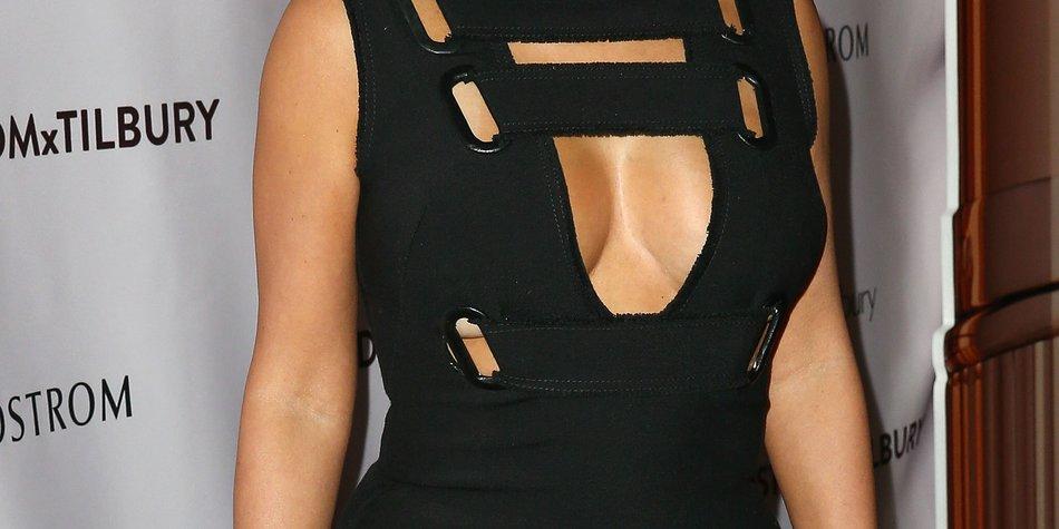 Kim Kardashian zeigt der Welt ihr kleines Ebenbild