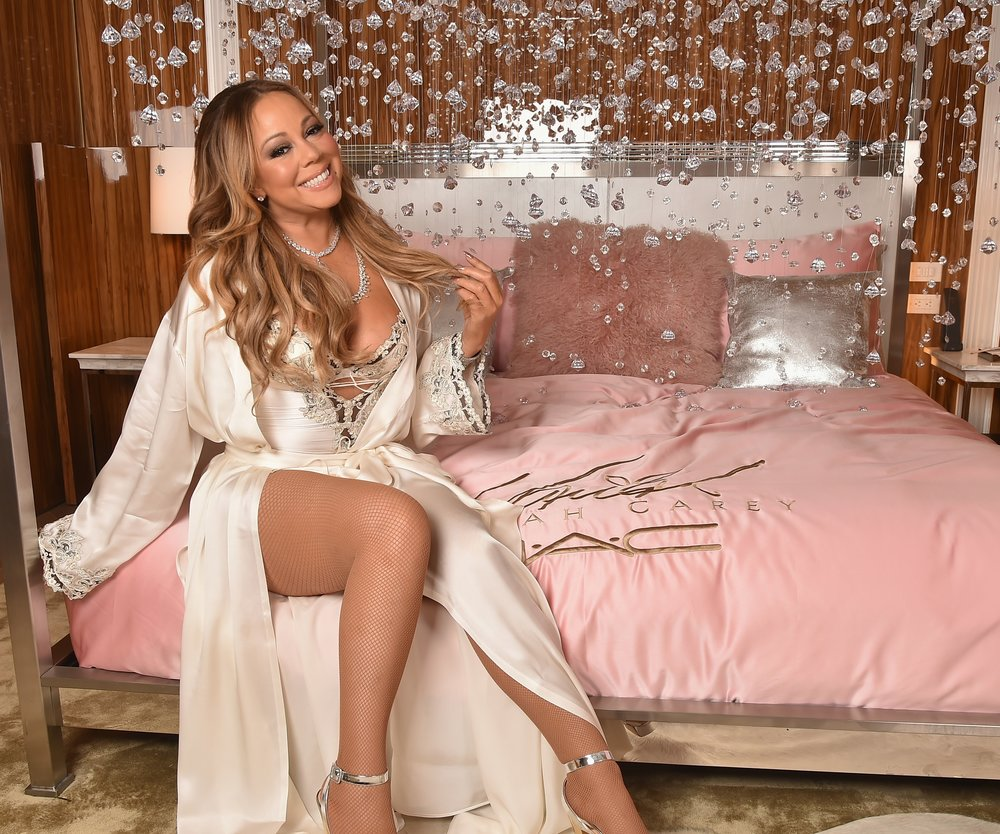 NEW YORK, NY - DECEMBER 03: Mariah Carey attends the M.A.C Cosmetics Mariah Carey Beauty Icon Launch at Baccarat Hotel on December 3, 2016 in New York City. (Photo by Theo Wargo/Getty Images for M.A.C)