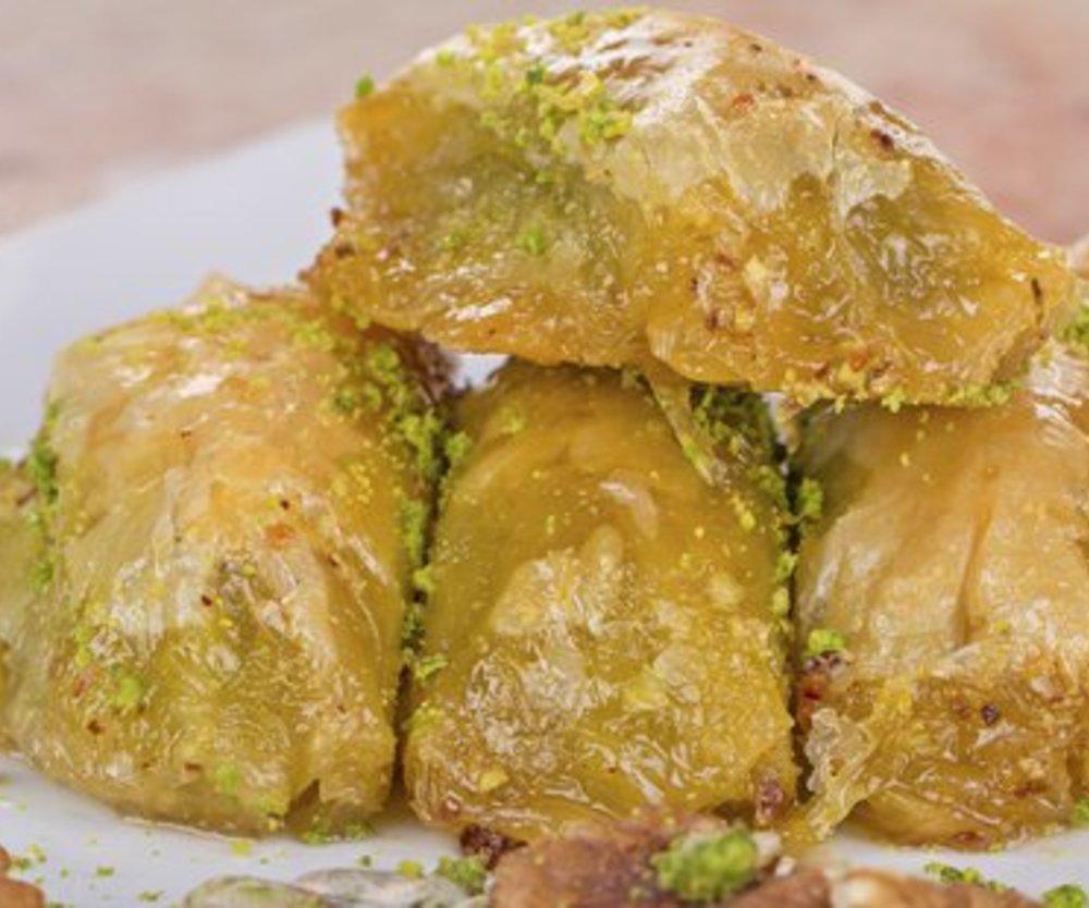 Baklava mit Blätterteig