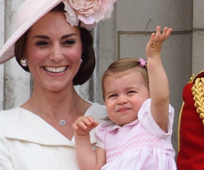 Kate Middleton und ihre kleinen Stilikonen