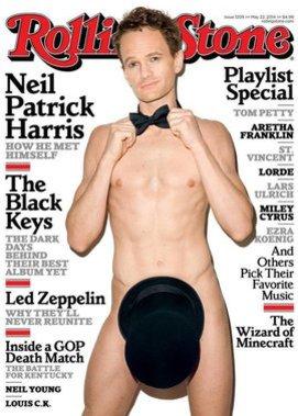 Neil Patrick Harris auf dem Rolling Stone
