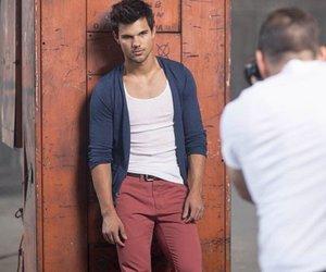 Taylor Lautner modelt für Bench