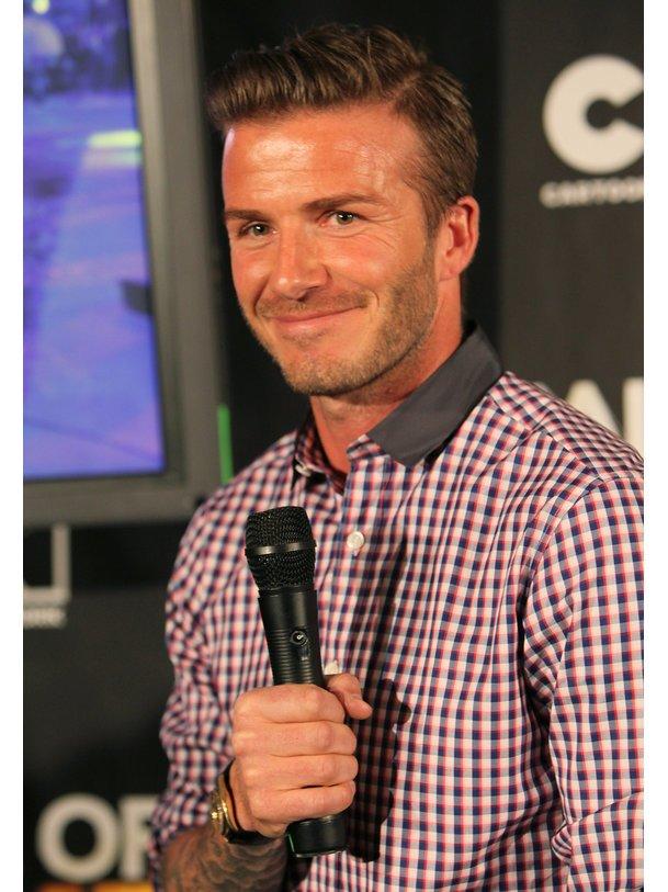 David Beckham muss immer perfekt sein.