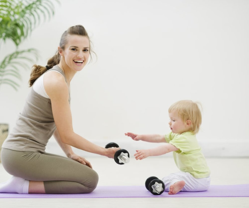 Nach der Schwangerschaft abnehmen, fällt vielen schwer