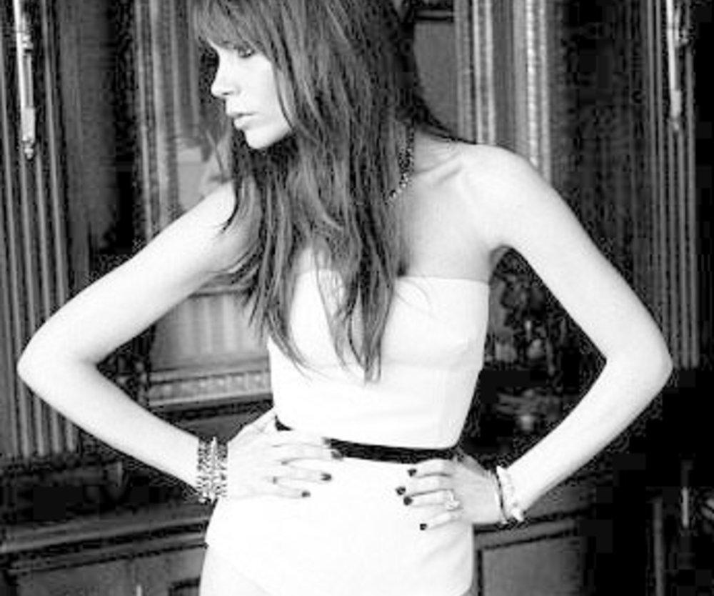 Victoria Beckham als Dessous-Model