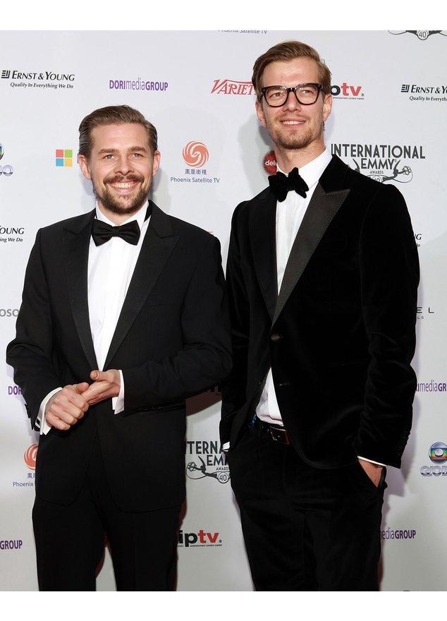 Joko und Klaas bei der Emmy-Verleihung
