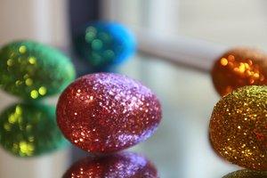 Nicht nur an Weihnachten kann die Deko glitzern.