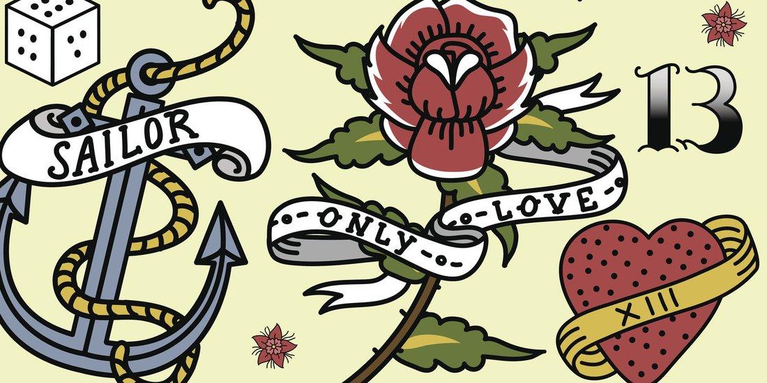 Old School Tattoos Motive Infos Vorlagen Desiredde