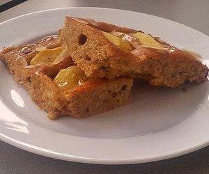 Dinkel-Vollkorn Apfelkuchen mit Honig