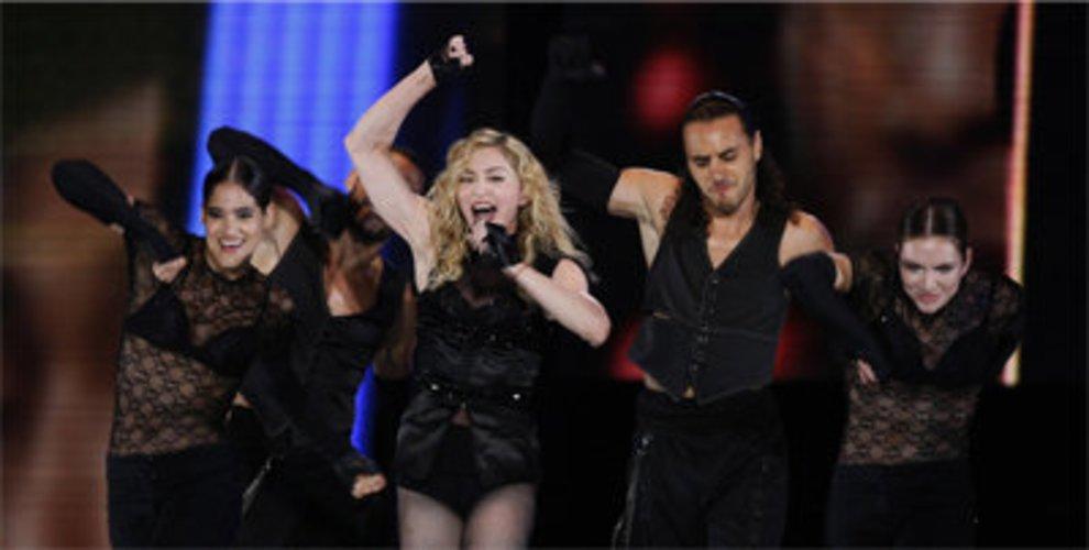 Madonna singt seit 20 Jahren.