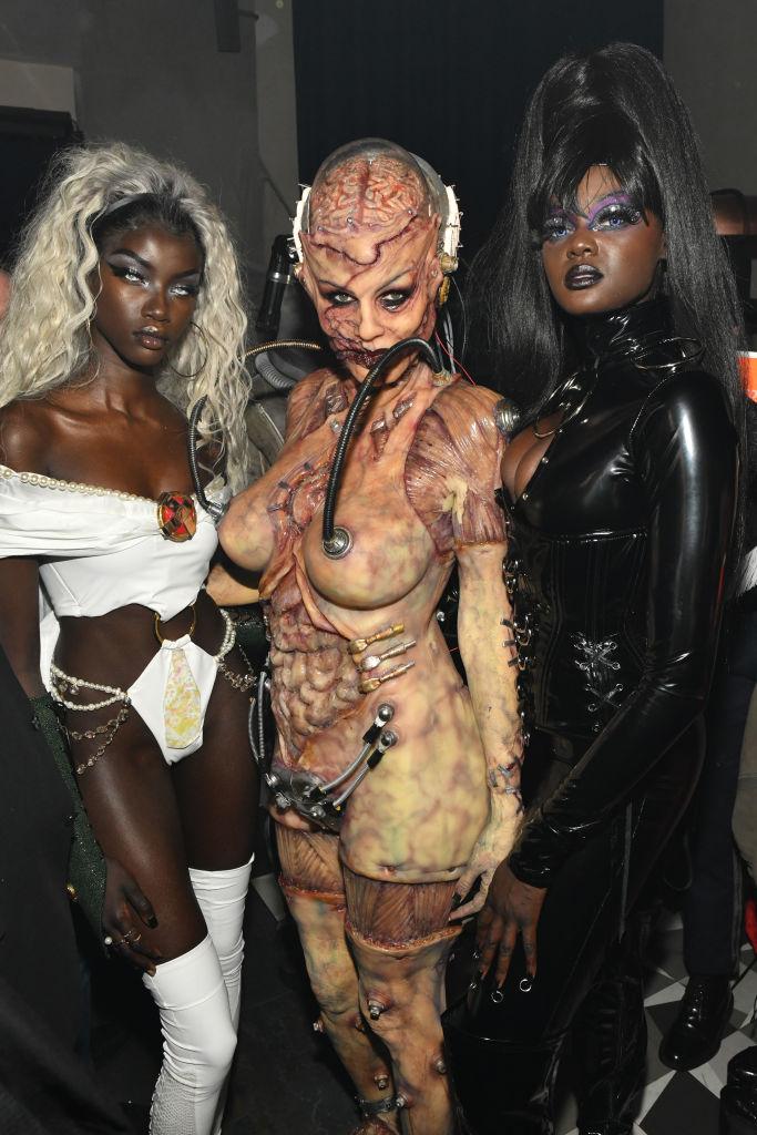 Heidi Klum Halloween Kostüm