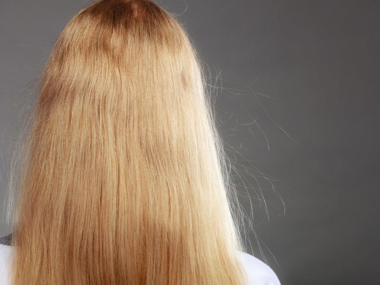 statische Haare
